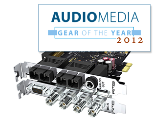 Audio Media - Gear of the Year 2012